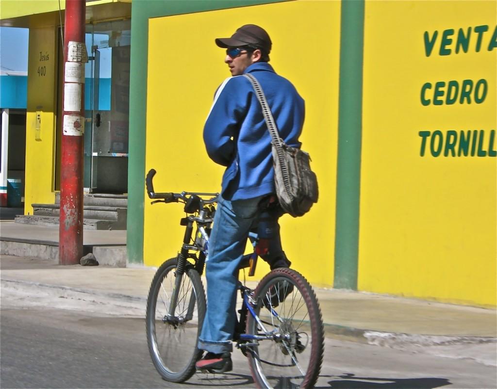 Bicyclist, Peru